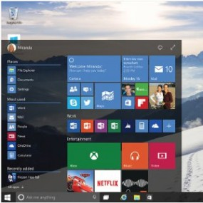 Windows 10–startmenue 151862