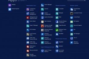 Winserver 2012 R2 Start Menu 2