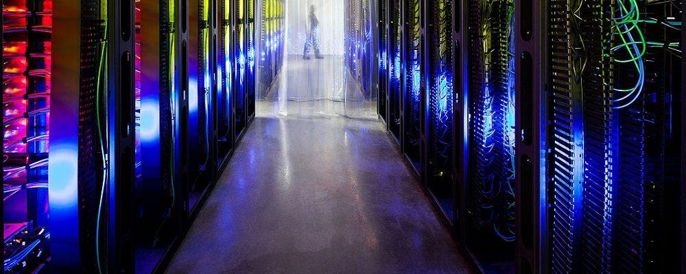 Google Council Bluffs Iowa Data Center Routers