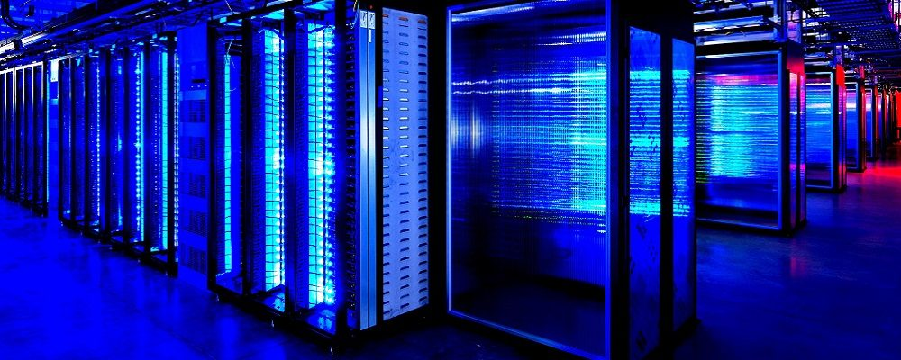 Data Center Server Room Colorful Technology Hogh Contrast Hd Wallpaper 1055246